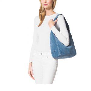 Review of Tylie Malibu Suede Utility Handbag